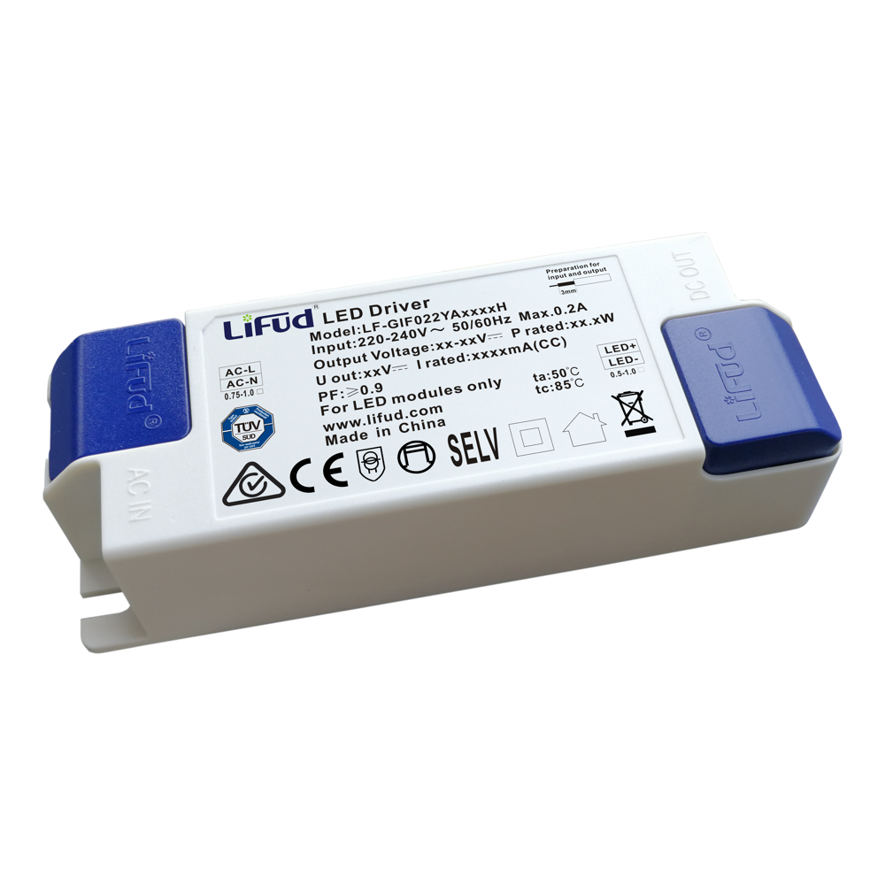 Constant Current Driver 20w 240vac In 500ma Output Flicker Free Circuit Lifud Acv