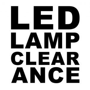 LED Lamp Clearance