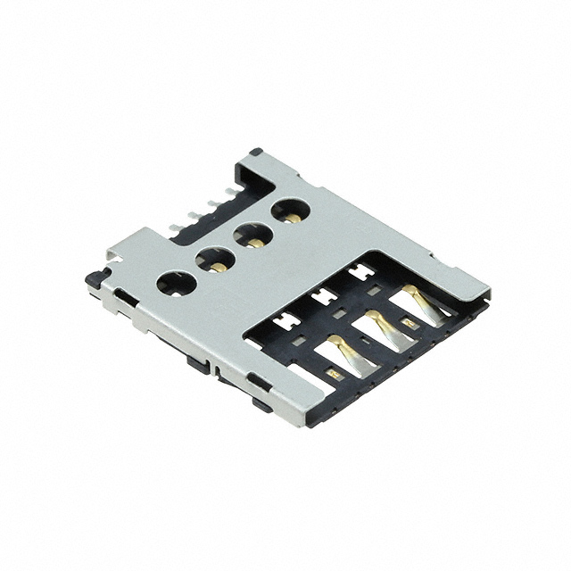 Memory/SIM Card Connectors